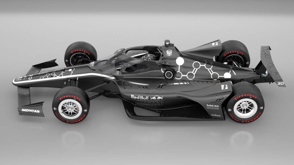 Aeroscreen For Indycar Red Bull Advanced Technologies